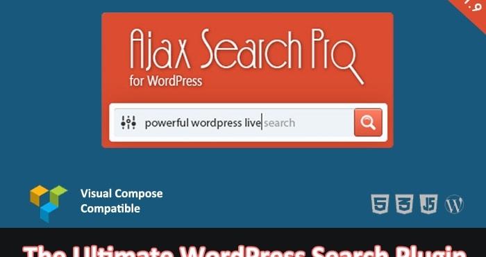 افزونه جستجوگر پیشرفته Ajax Search Pro